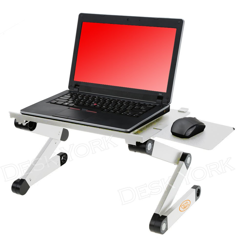 Ergonomic Computer Desk Amazoncom Desk York Portable Table For Computer Adjustable