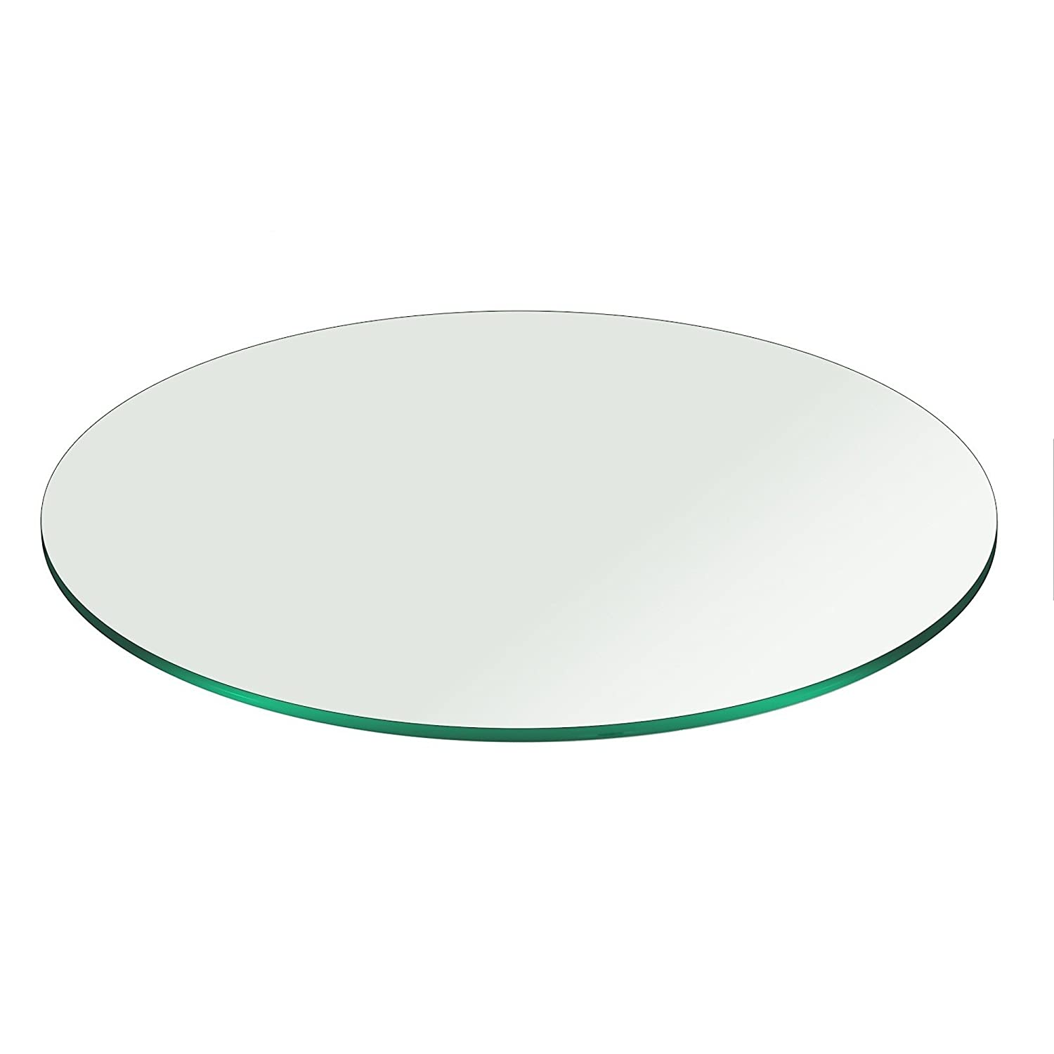 """Amazon 20"""" Inch Round Glass Table Top 3 8"""" Thick Pencil"""