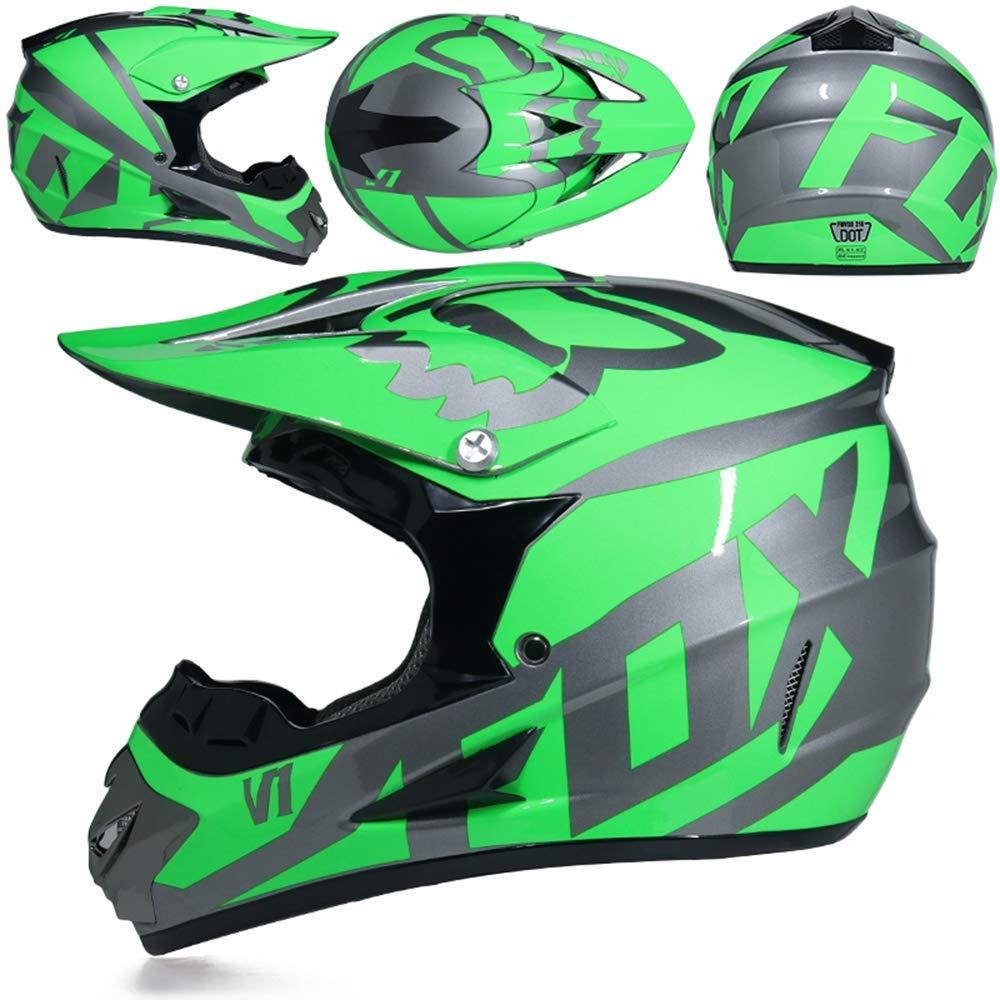 Adult Off Road Helmet Motocross Dirt Bike Motorcycle ATV Helmet AM mountain bike Crossbike Enduro Sport DOT helmet with Gloves Storm Mask and Glasses 6 style