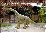 Brachiosaurus Juvenile Fiberglass 15ft Life Size Dinosaur Statue (Jurassic Park)