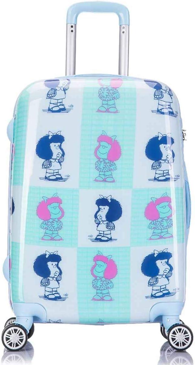 Mafalda Sweet Maleta mediana Azul Pacífico