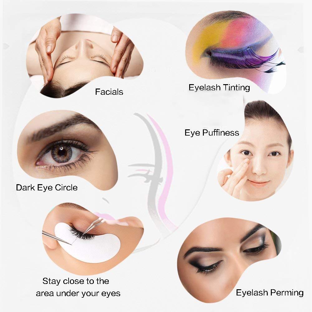 7d420888934 Amazon.com: Eye Gel Pads,Eyelash Extension Under Eye  Pads,Comfortable,Fresh,Lint Free Lash Extension Under Eye Gel Patches for  DIY False Eyelash Extension ...
