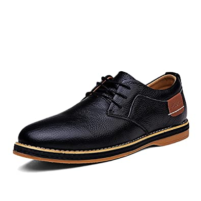Men's Loafers Shoes Fashion Casual Shoes Retro Leather Shoes Outdoor Trend Shoes