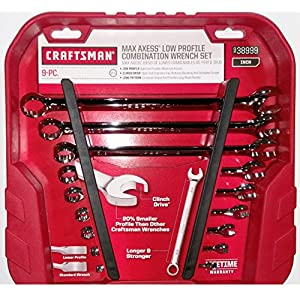 Craftsman Max Axess Low Profile Combination Wrench Set