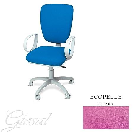 Sedie Da Ufficio Napoli.Sedia Napoli Poltrona Girevole Ecopelle Operativa Studio Ufficio