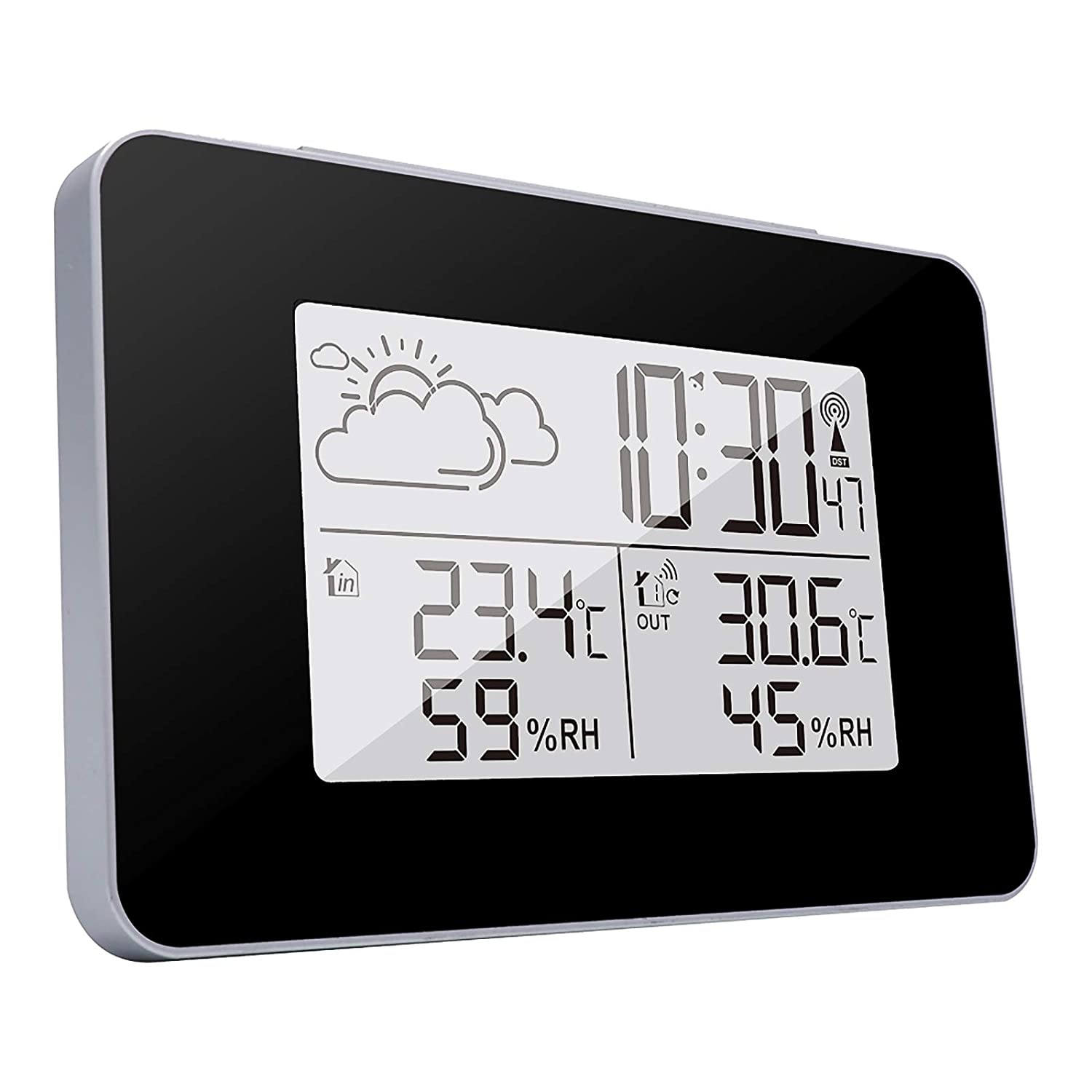 ONEVER Weather Station Wireless Inventory Detroit Mall cleanup selling sale Indoor Colo Thermometer Outdoor