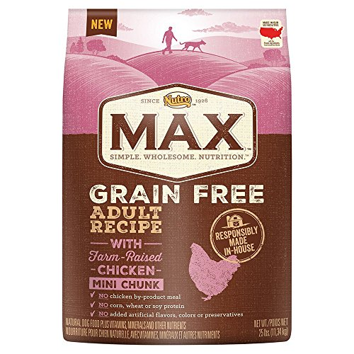nutro-max-adult-grain-free-with-farm-raised-chicken-mini-chunk-dry-dog-food-25-lbs