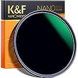 K&F Concept 77MM Neutral Density Filter, 10 Stop ND 1000 Filter HD 18 Layer Super Slim Multi-Coated Glass Neutral Grey ND Len
