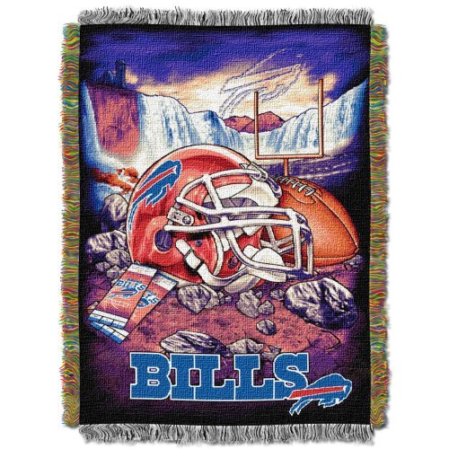 Northwest Nfl Buffalo - The Northwest Company Northwest 1NFL051010003RET NFL 051 Bills Home Field Advantage NFL Buffalo Bills Acrylic Tapestry Throw Blanket