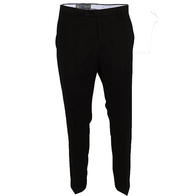 Cavani - Pantalón de traje - para hombre negro negro 36 ...