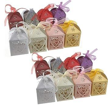 Limeo Caja de Regalo de Caramelo Hueco Caja de Dulces Caja de Regalo Caja de Dulces