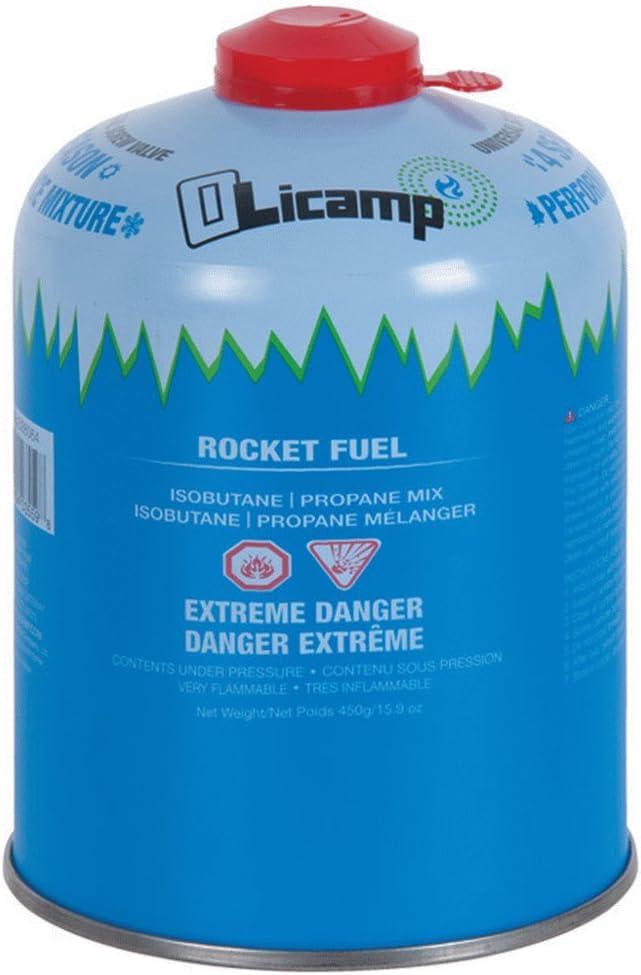 Amazon Com Olicamp Isobutane Propane Rocket Fuel Canister Stove Pocket Size Backpacking Camping Stove Fuel Camping Light Weight And Compact 450g 8oz Sports Outdoors