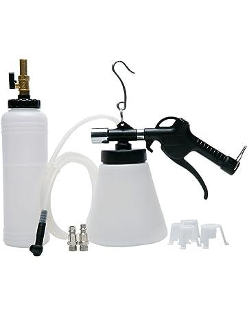 FreeTec Purgador de frenos de Aire Comprimido con dispensador