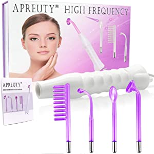 High Frequency Machine, Portable Handheld High Frequency For Skin Tightening Care Wand Facial Machine Violet