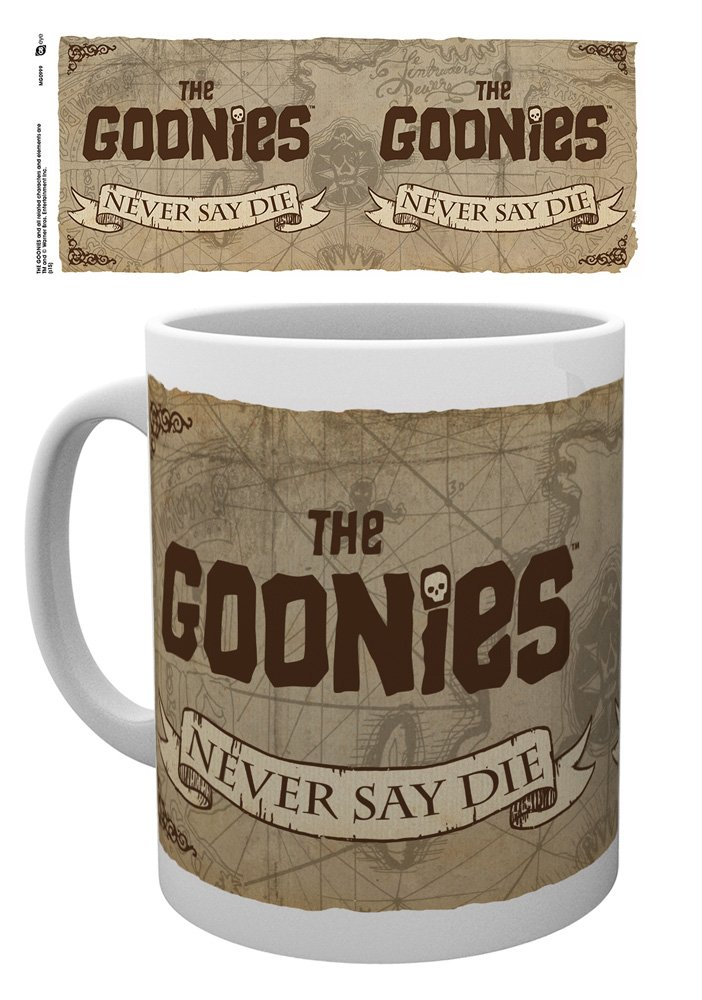 Never Say Die Taza GB Eye The Goonies
