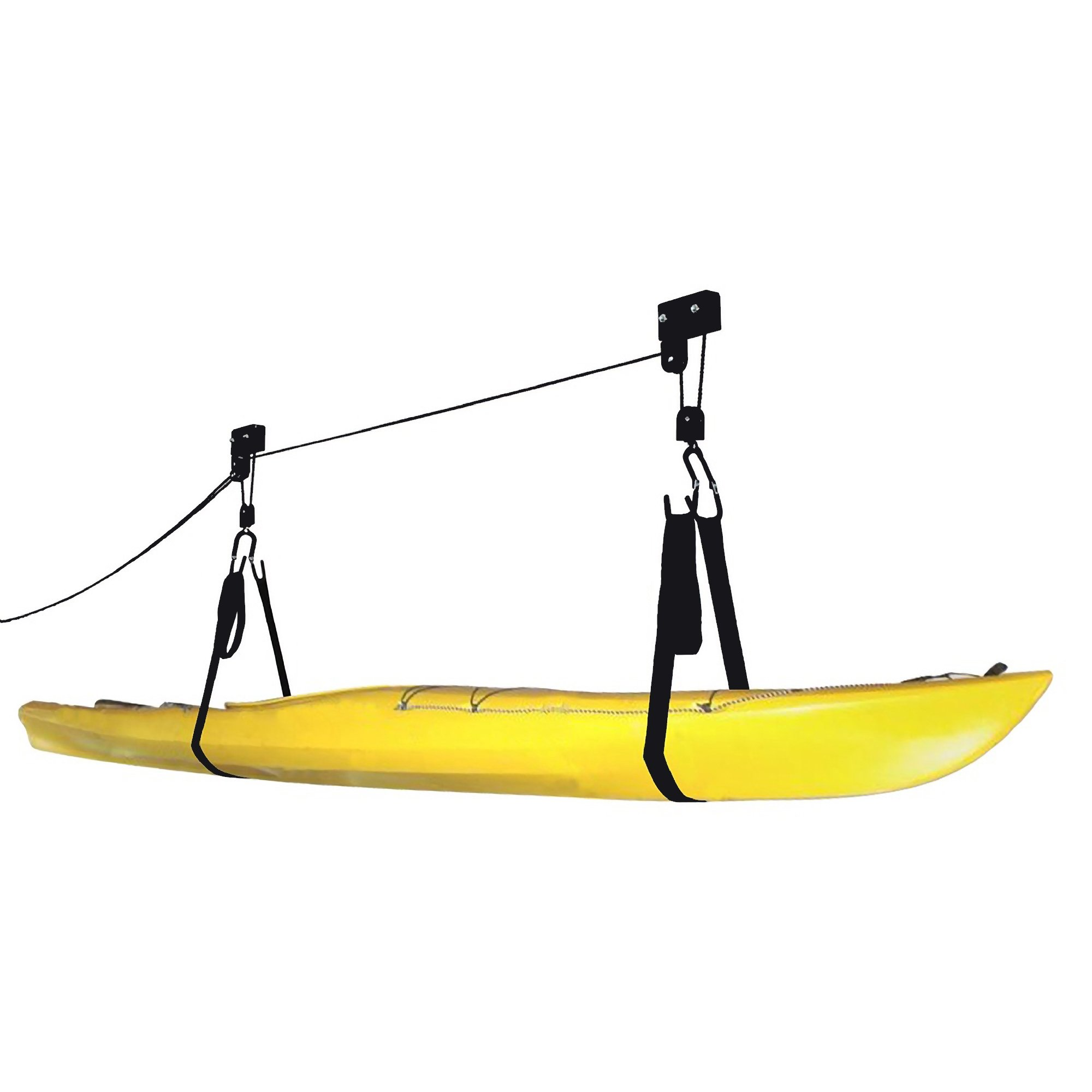 RAD Sportz Kayak Hoist Quality Garage Storage Canoe Lift with 125 lb Capacity Even Works as Ladder Lift Premium Quality by RAD Sportz (Image #2)