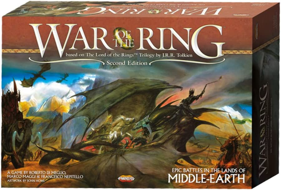 Amazon.com: Ares Games War of The Ring 2nd Edition, Multi-Colored (AGS  WOTR001): Toys & Games