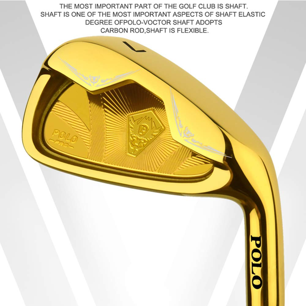 CNKSKXK-goif Club de Golf de Acero, Hierro Mixto, 37 ...