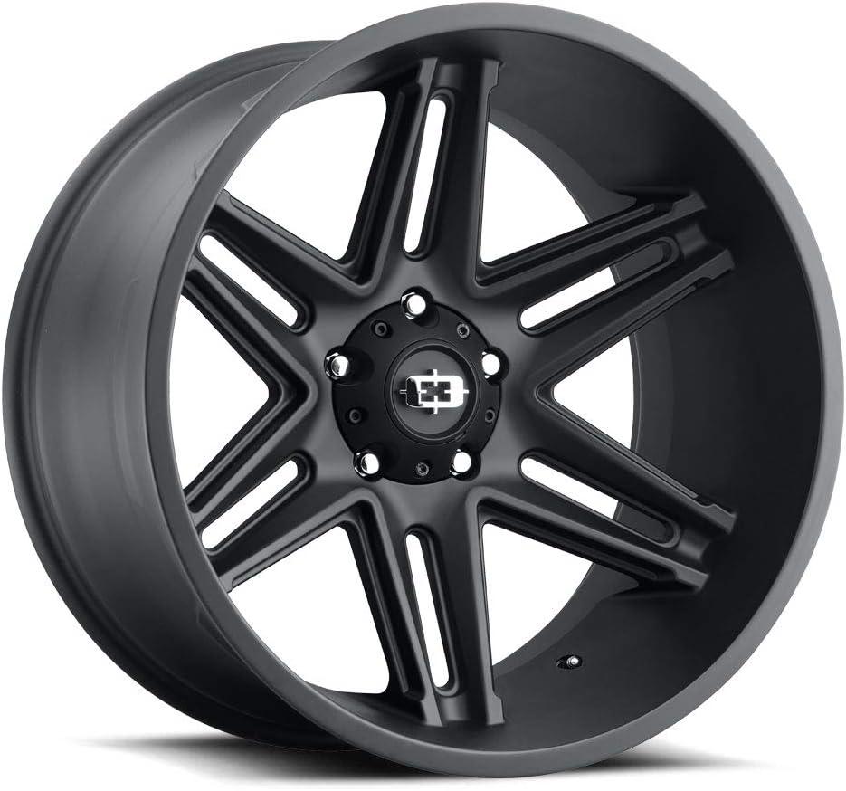 Vision 363 Razor Satin Black 20 Inch Rims