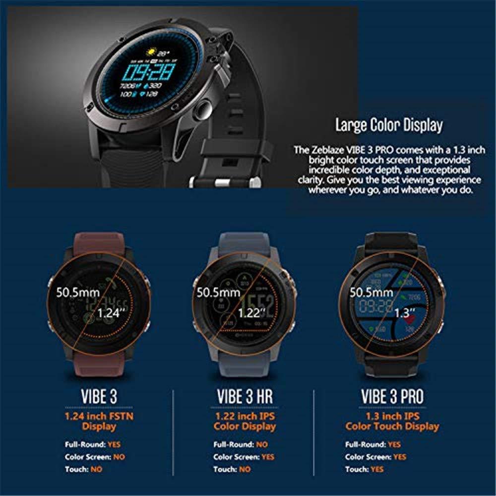 Amazon.com: OJBDK Smart Watch Zeblaze Vibe 3 Pro Smart Watch ...