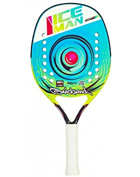 Raqueta Beach Tennis Racket Quicksand Ice Man 2017: Amazon.es: Deportes y aire libre