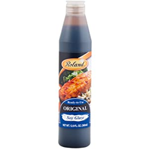 Roland Foods Original Soy Glaze, Specialty Imported Food, 12.88-Ounce Bottle
