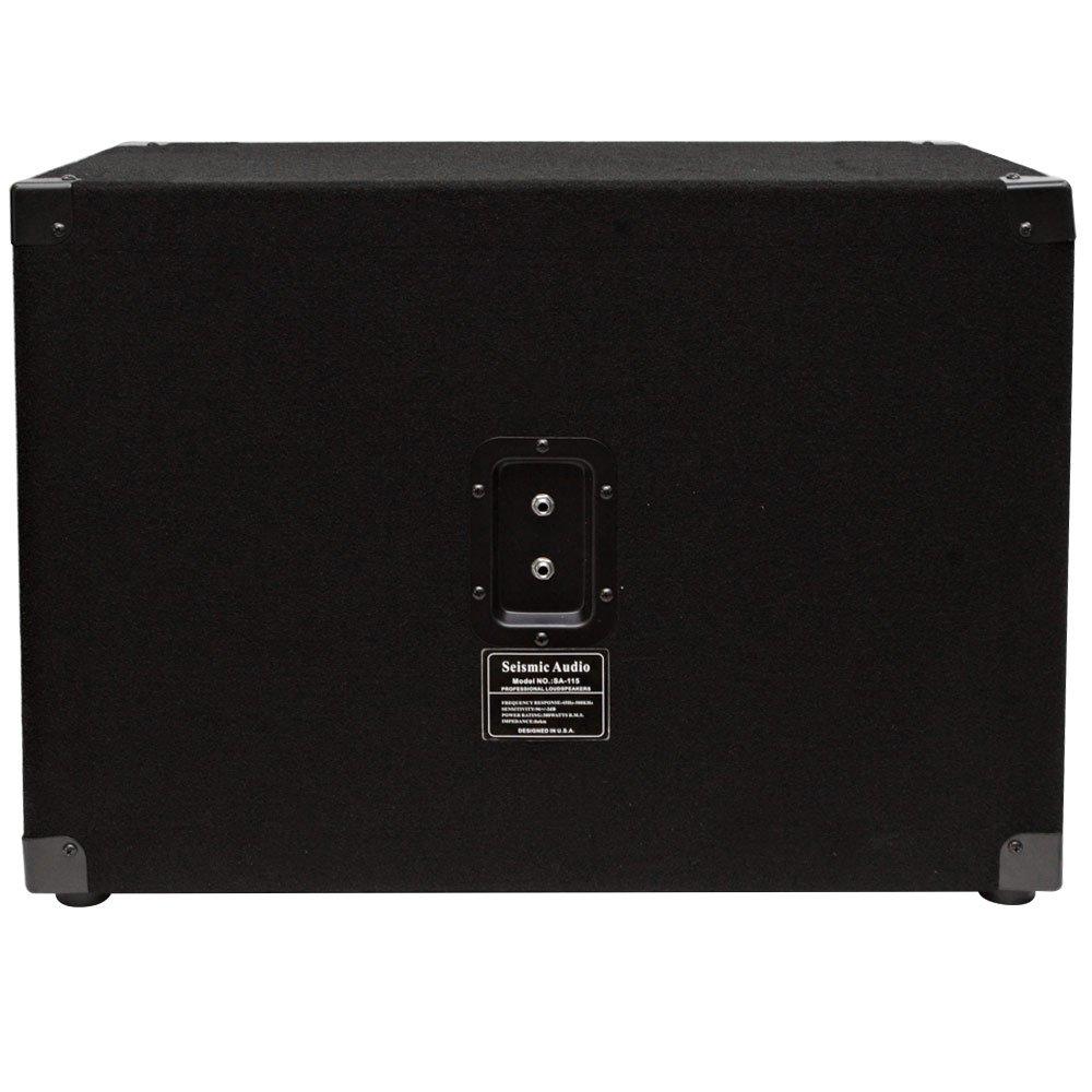 1x15 Guitar Cabinet Amazoncom Seismic Audio 15 Bass Guitar Speaker Cabinet 300