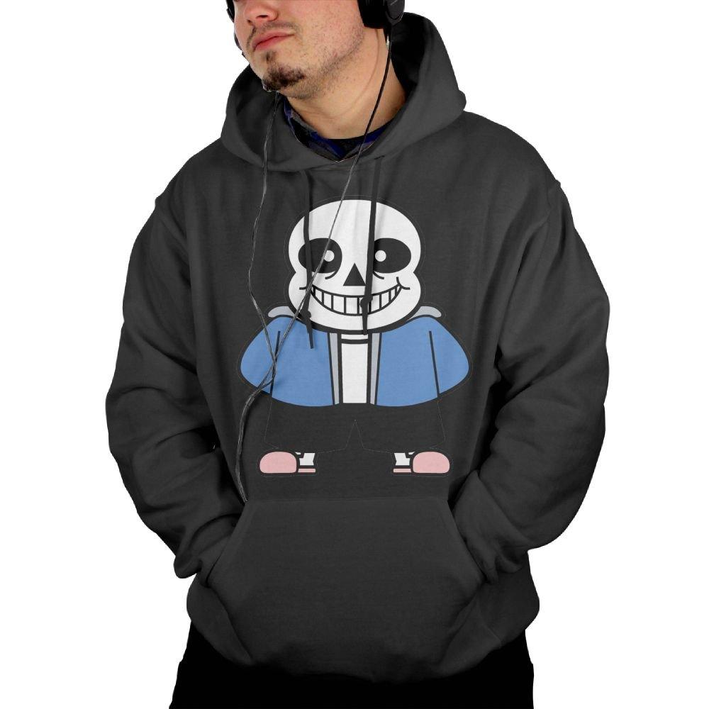 Undertale Sans Hoodie Sweatshirts Mens Fleece Sweater Size S