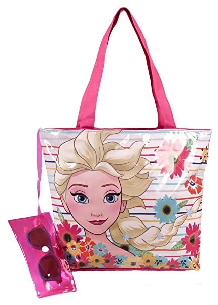 Amazon.com | Frozen 2500000681 Canvas and beach bag | Travel ...