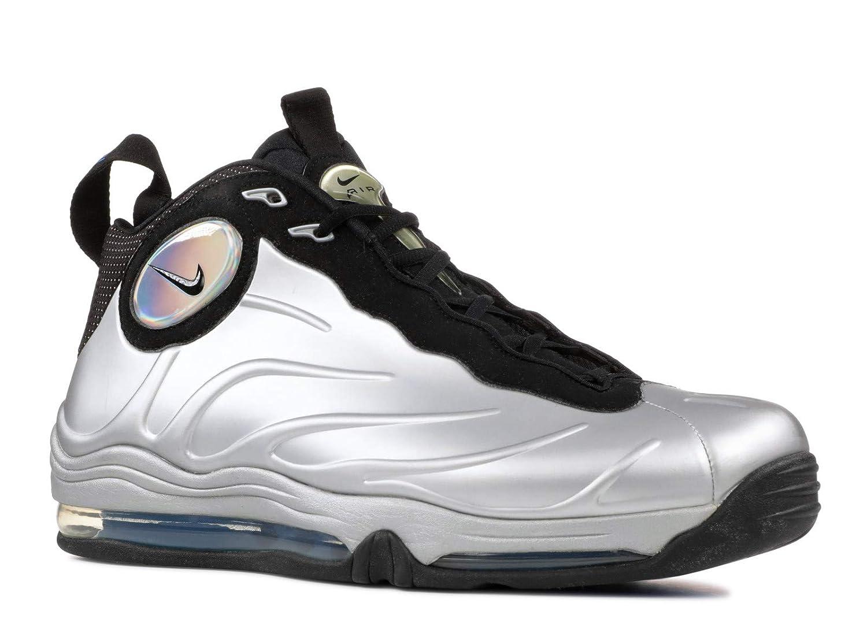 low priced 8de3b f4876 Amazon.com   NIKE Total Air Foamposite Max Metallic Silver Black  (472498-040) (Mens US9   27CM   EUR 42.5)   Shoes