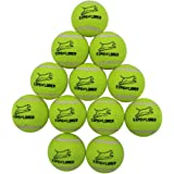 Squeaky Tennis Balls for Dogs - Premium Toy for Pet Training 12-pack