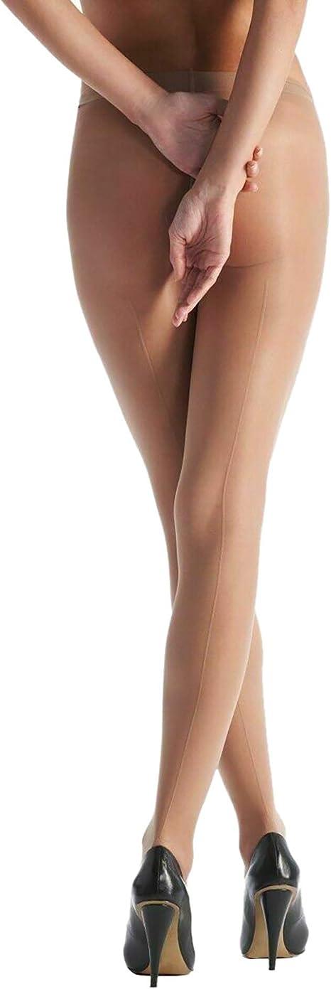 Collant Velati con Cucitura Posteriore - Donna 1 paio Silky