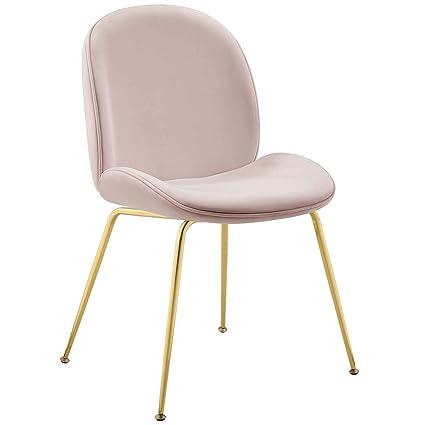 Groovy Amazon Com Modway Eei 3548 Pnk Scoop Gold Stainless Steel Uwap Interior Chair Design Uwaporg