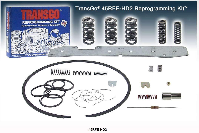 45RFE HD2 Reprogramming Kit Transgo