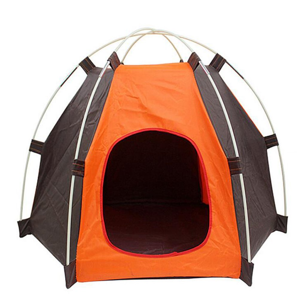 RuiXiang 1pcs Outdoor Pet Tent, Small Pet Tent Assembly, Dog Cat Camping Tent, Portable Waterproof Pet House Tent,Indoor and Outdoor Dog Cat House