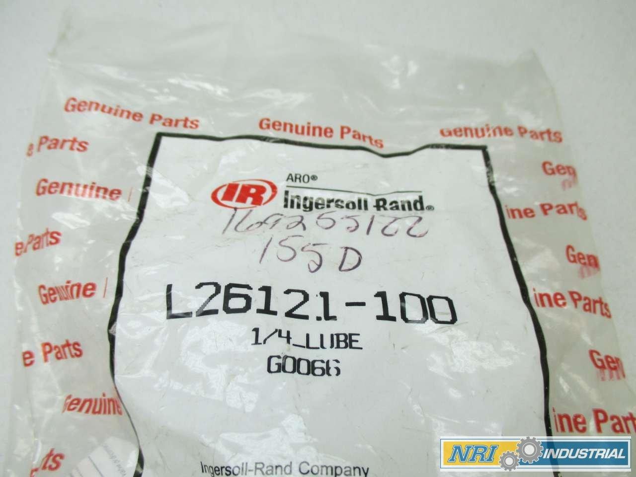 NEW INGERSOLL RAND L26121-100 200PSI 1//4 IN NPT PNEUMATIC LUBRICATOR D442959