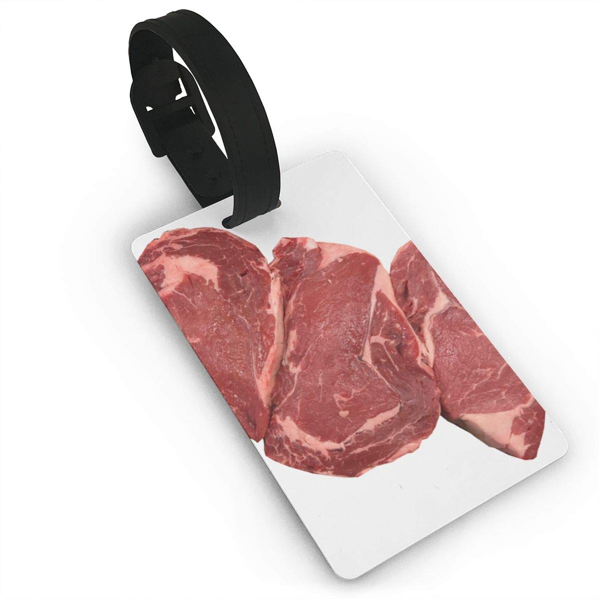Beef Pork Meat Luggage Tags Bag Travel Labels For Baggage Suitcase