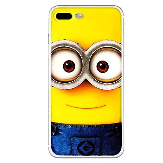 finest selection 18a3b 7bf07 Despicable Me Minions Cartoon Silicone Phone Case Cover (Apple iphone  7/8/Apple iphone 7+/8+/Samsung galaxy S8/Samsung galaxy S8+) (Style 04.  MINION, ...
