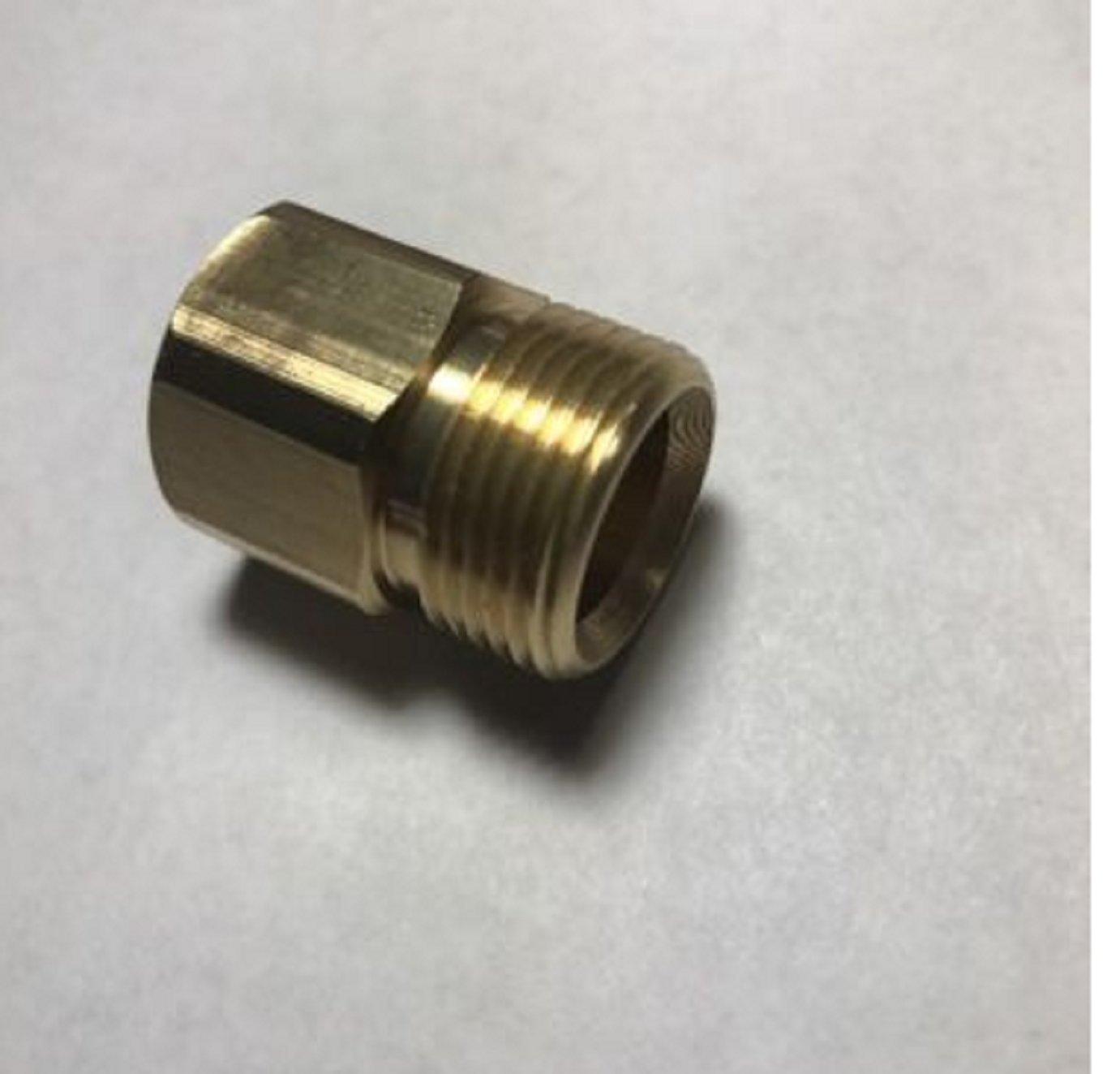 USA Premium Store M22 /15mm x 3/8 NPT Female Adapter (Non Standard size M22)