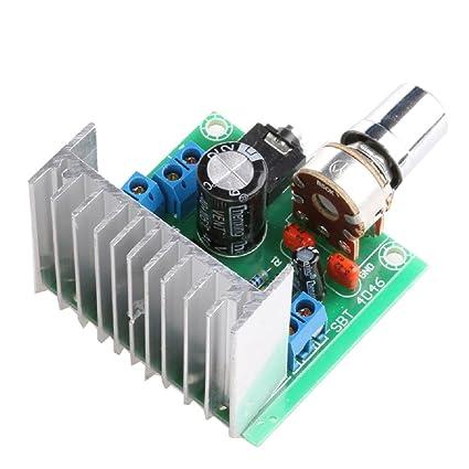 Amazon com: Audio Amplifier Board, TDA7297 Version B 15W Digital