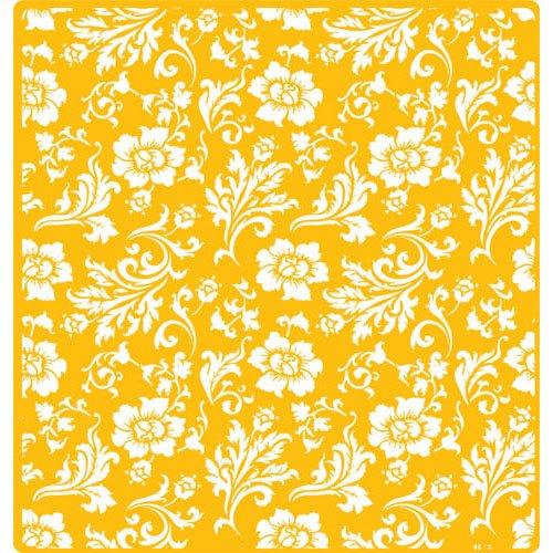 Designer Decorating Stencil Chic Rose Mat, measures 19.25''W x 20.25''H by Designer Stencils