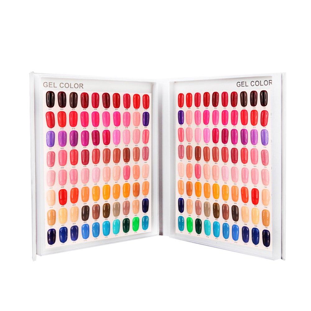 Amazon.com : Nail Color Chart Display, Nail Gel Polish Display Nail ...