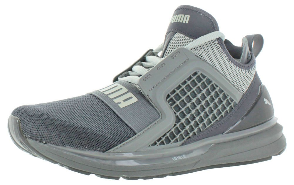 PUMA Men's Ignite Limitless Cross-Trainer Shoe B06XYFV34Y 11.5 D(M) US Periscope/Gray Violet