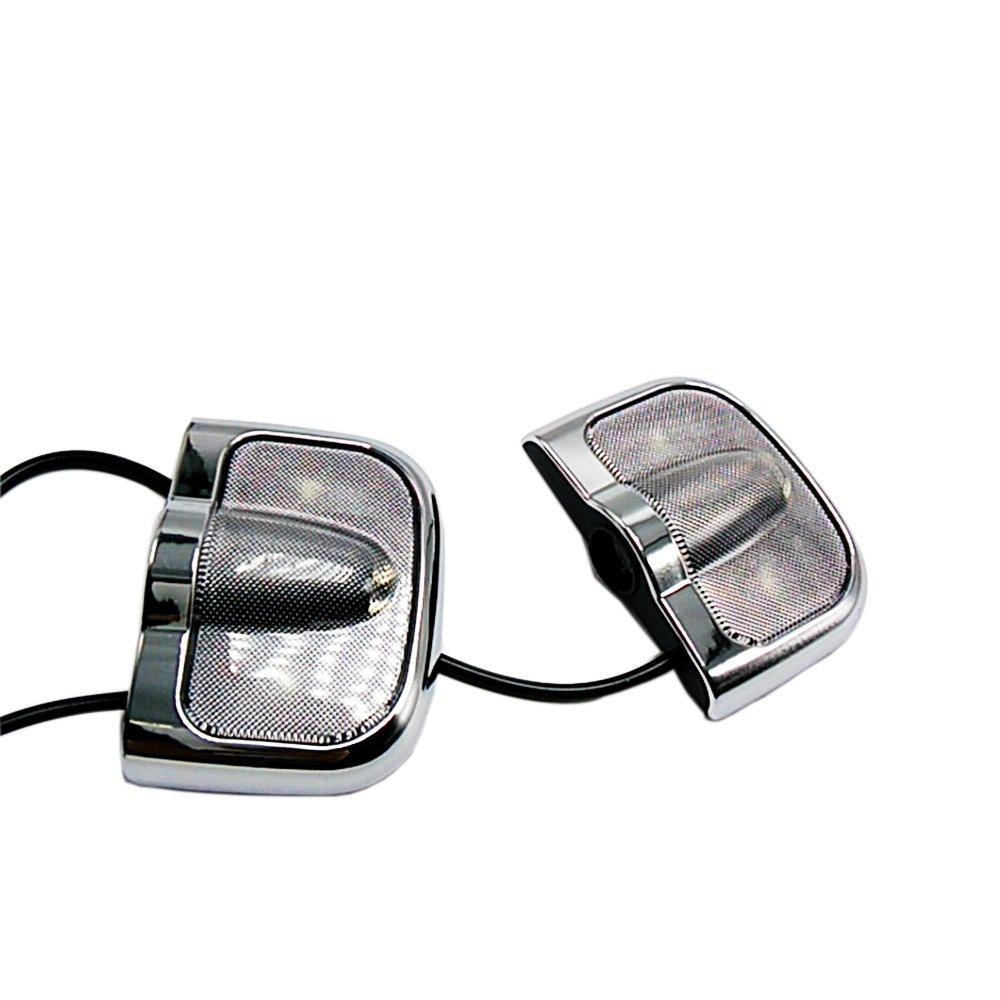 szss-car 2 pcs LED para puerta de coche Logo de bienvenida ...