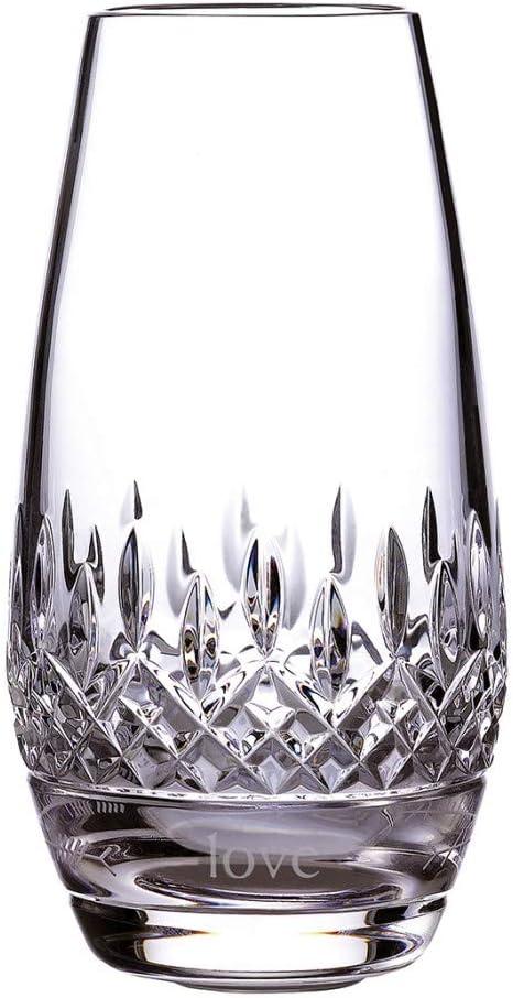 Waterford Crystal Lismore Ogham Bud Vase Love 6.1