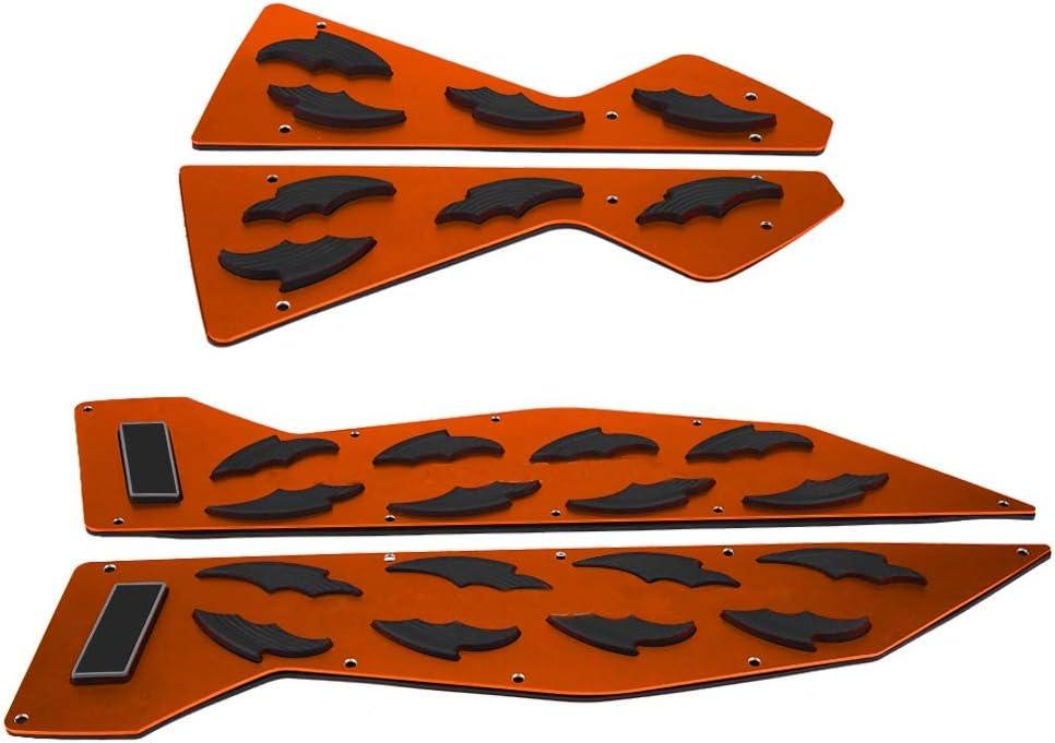 Paire de repose-pieds de moto en aluminium pour NMAX 155 NMAX 125