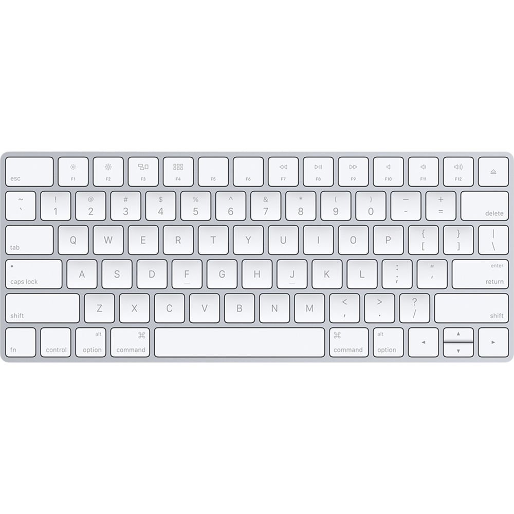0a370c85330 Amazon.com: Apple Wireless Magic Keyboard 2, Silver (MLA22LL/A) -  (Renewed): Computers & Accessories
