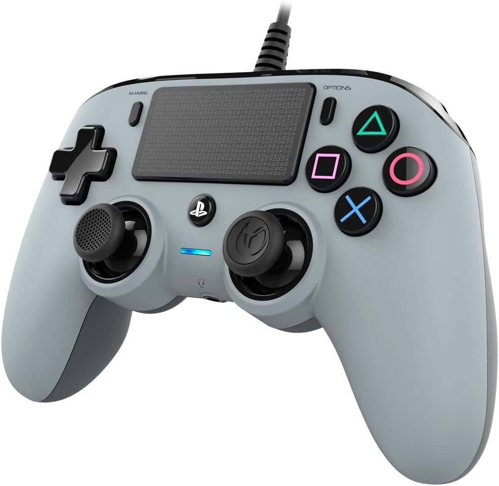 Nacon - Mando compacto PS4, color gris