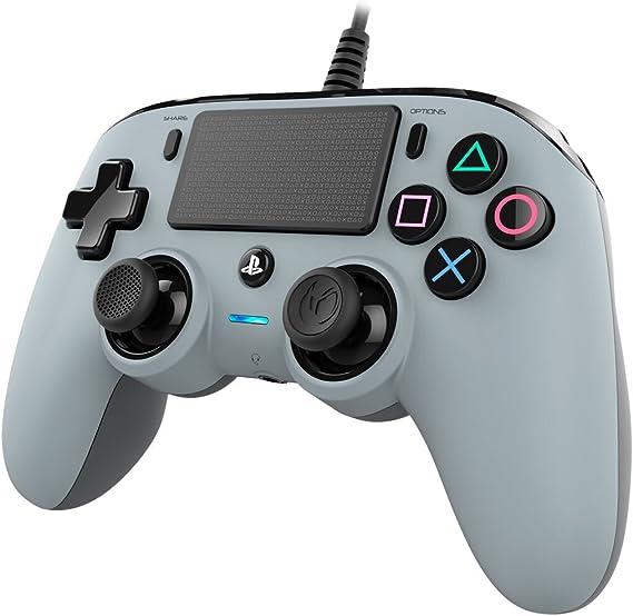 Nacon - Mando compacto PS4, color gris: Nacon: Amazon.es: Videojuegos