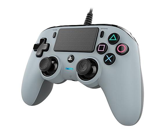 Nacon - Mando compacto PS4, color gris: playstation 4: Nacon ...